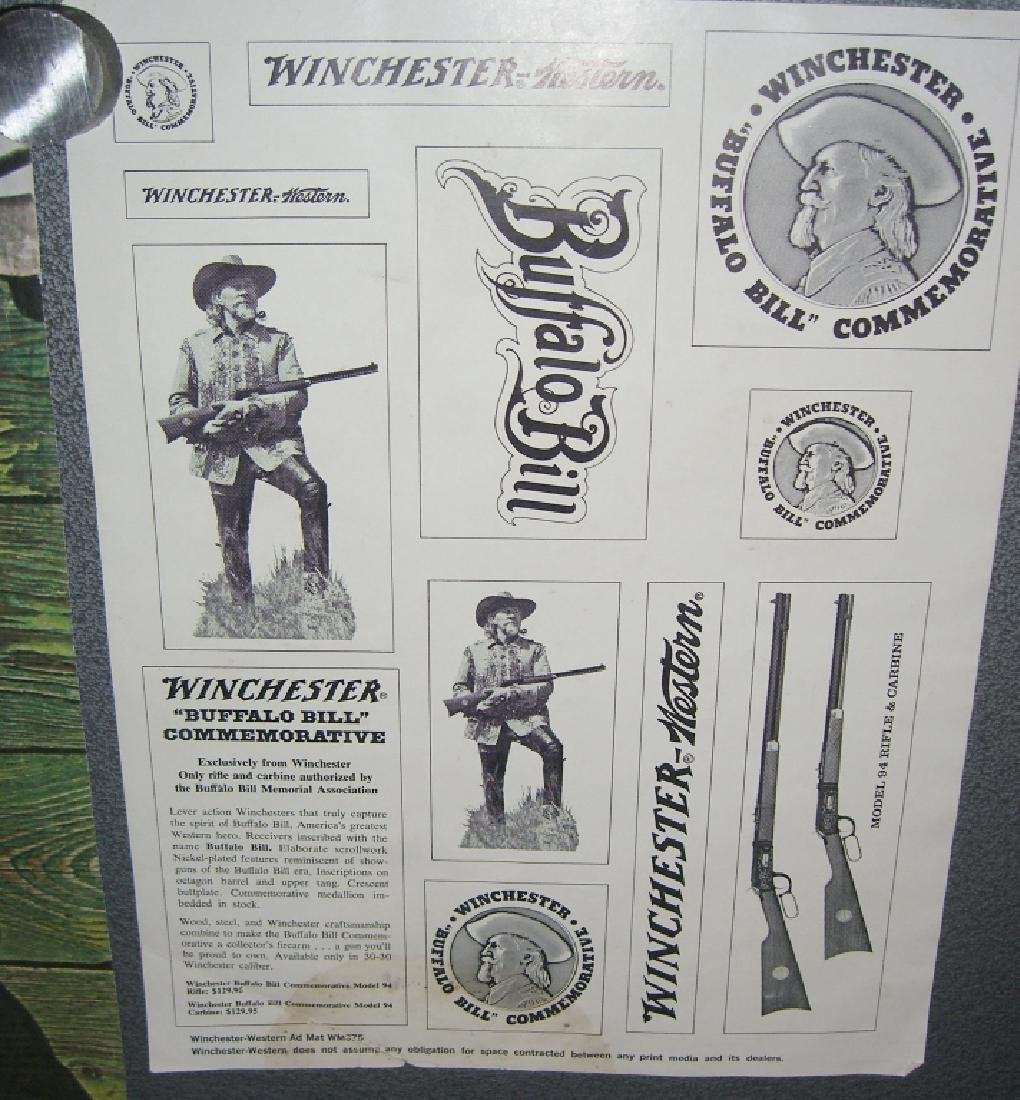 4 Winchester gun advertising posters/ads - 10