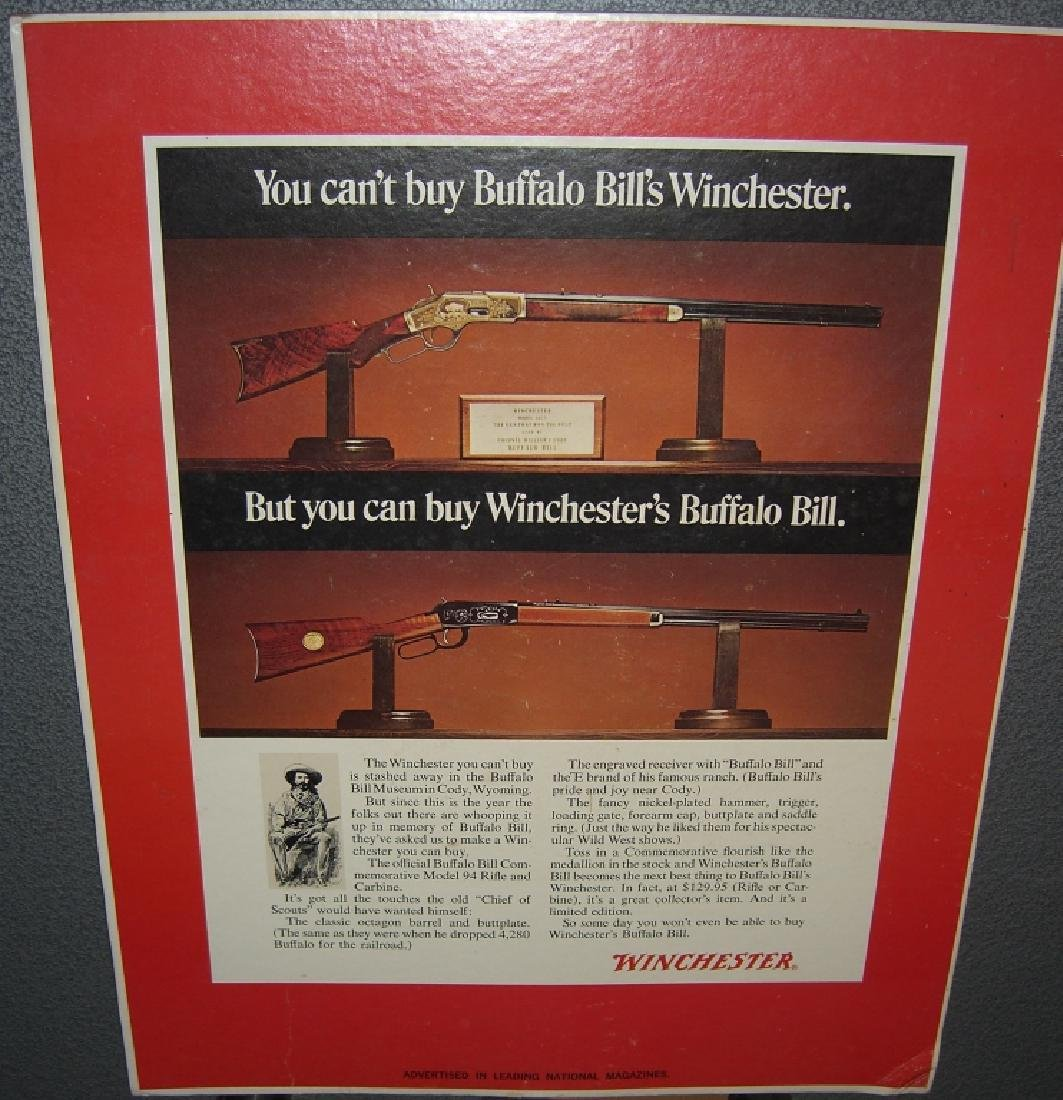 4 Winchester gun advertising posters/ads - 7
