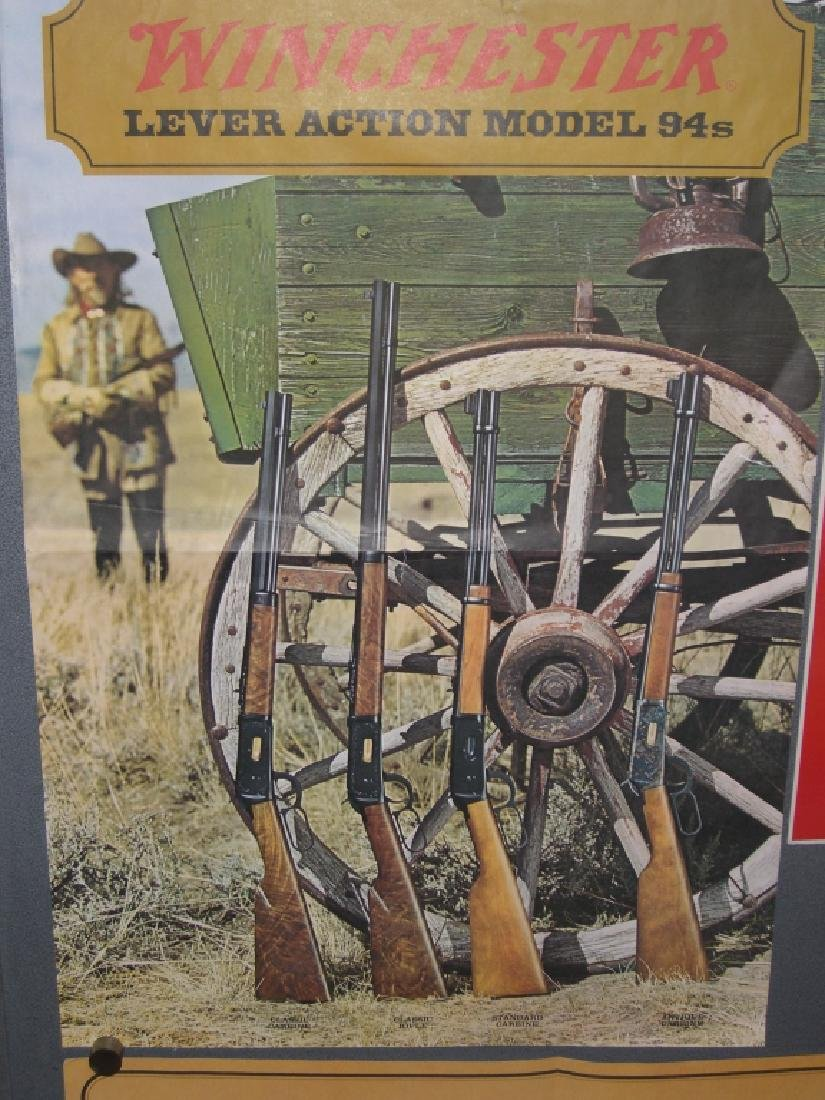 4 Winchester gun advertising posters/ads - 9
