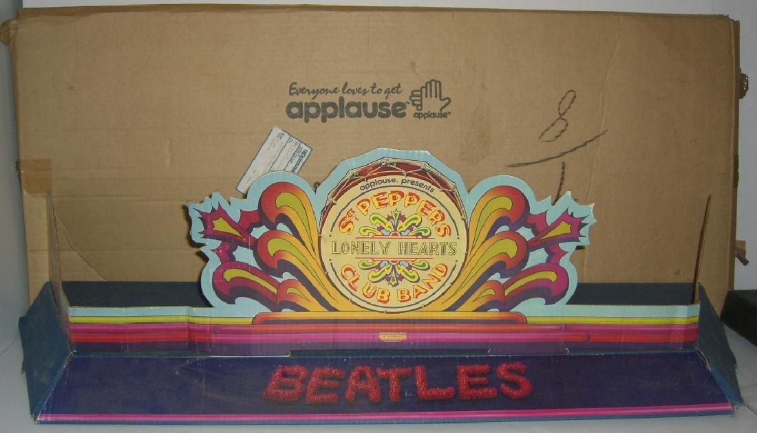 2 original Beatles cardboard doll stage stands - 2
