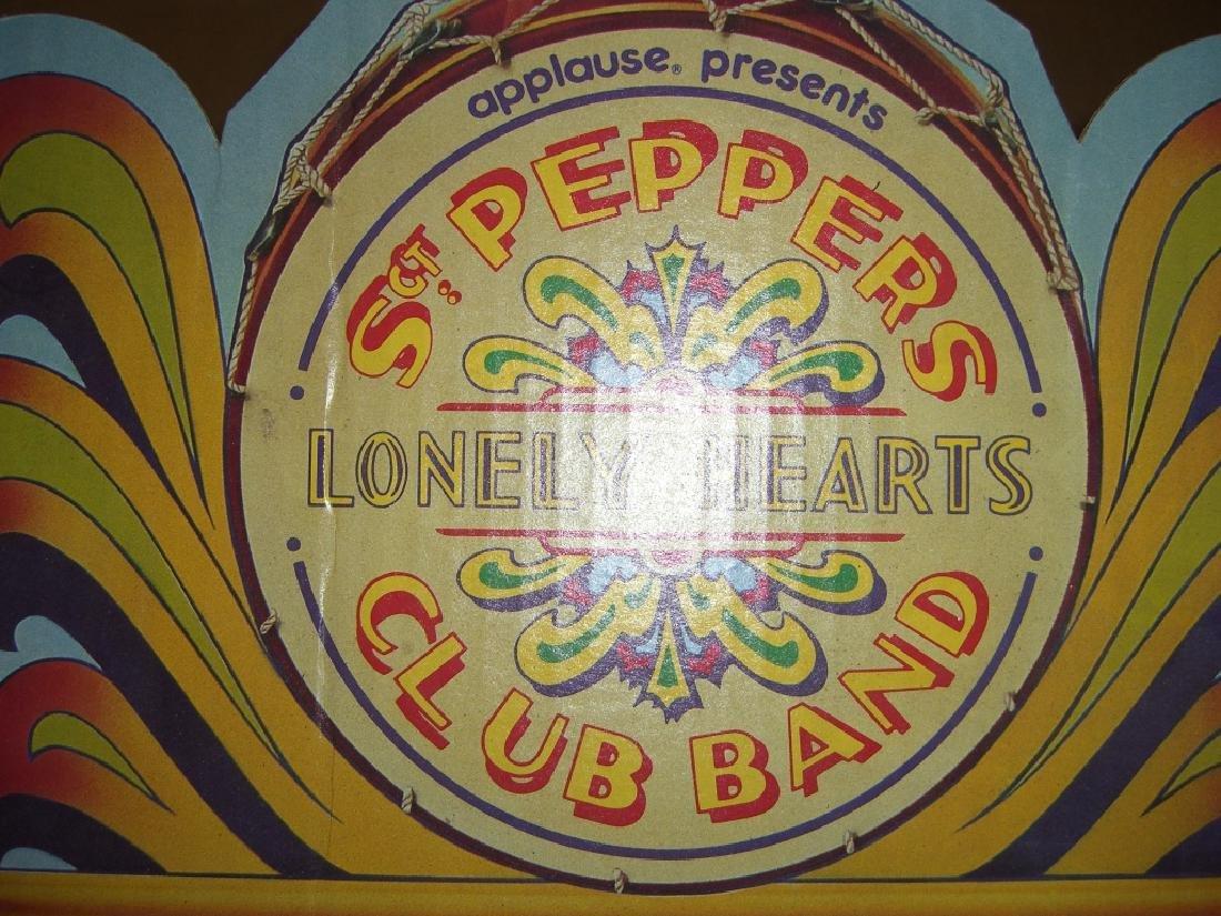 2 original Beatles cardboard doll stage stands - 3