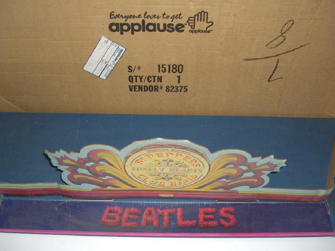 2 original Beatles cardboard doll stage stands - 4
