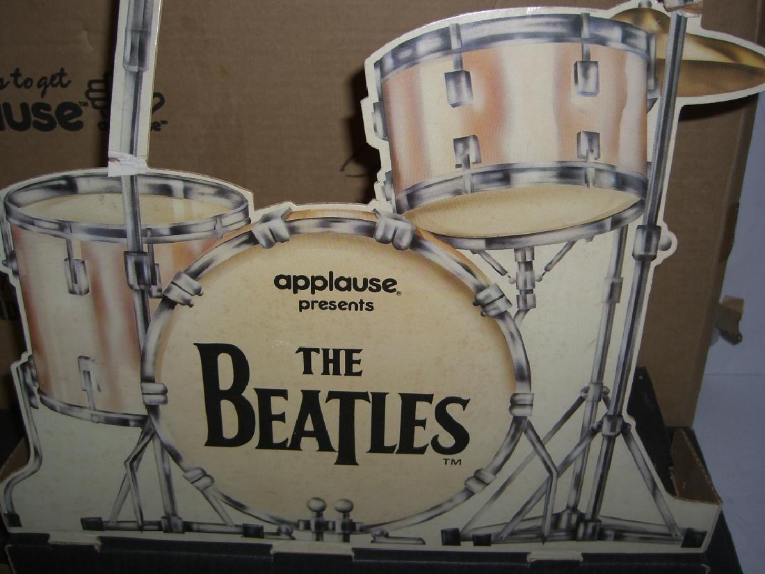 2 original Beatles cardboard doll stage stands - 6