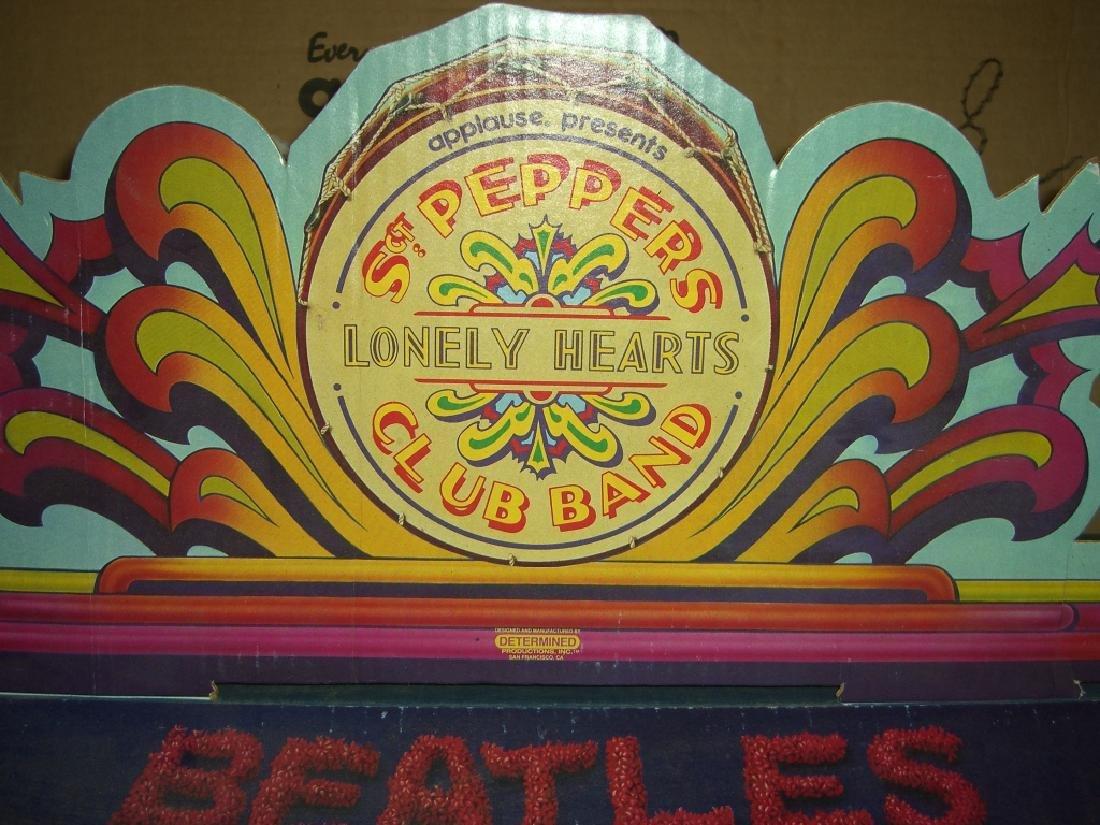 2 original Beatles cardboard doll stage stands - 8