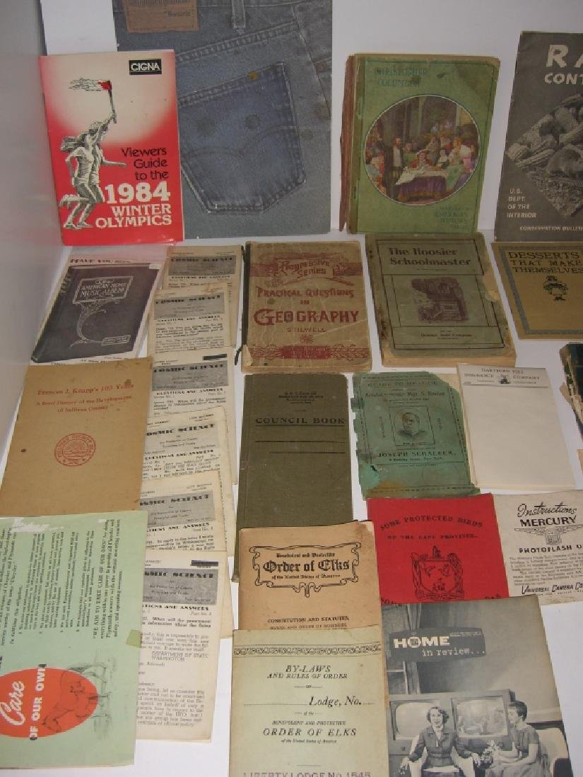 60 vintage catalog/pamphlets/booklets/brochures - 7