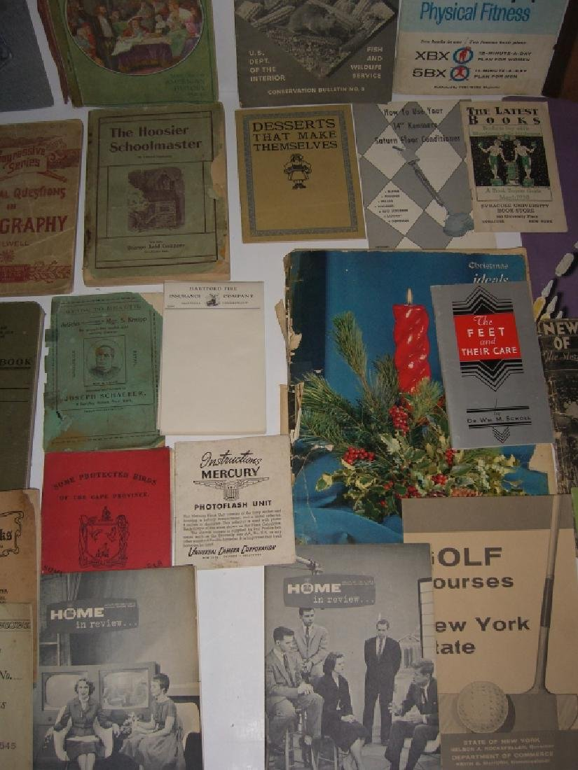 60 vintage catalog/pamphlets/booklets/brochures - 8