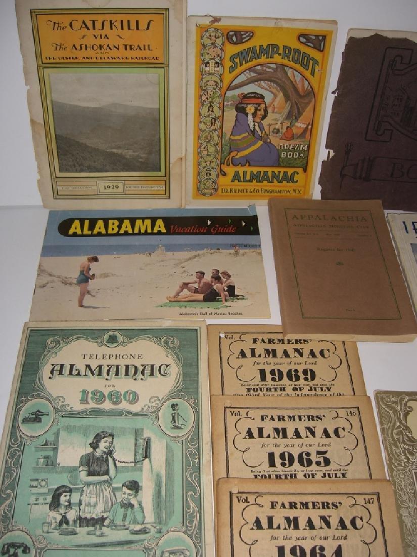 23 vintage travel & almanacs catalogs - 5
