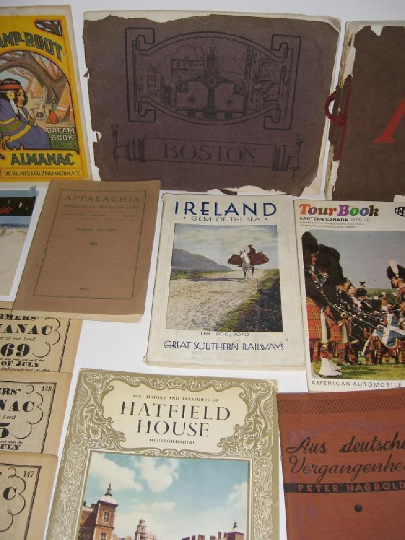 23 vintage travel & almanacs catalogs - 6