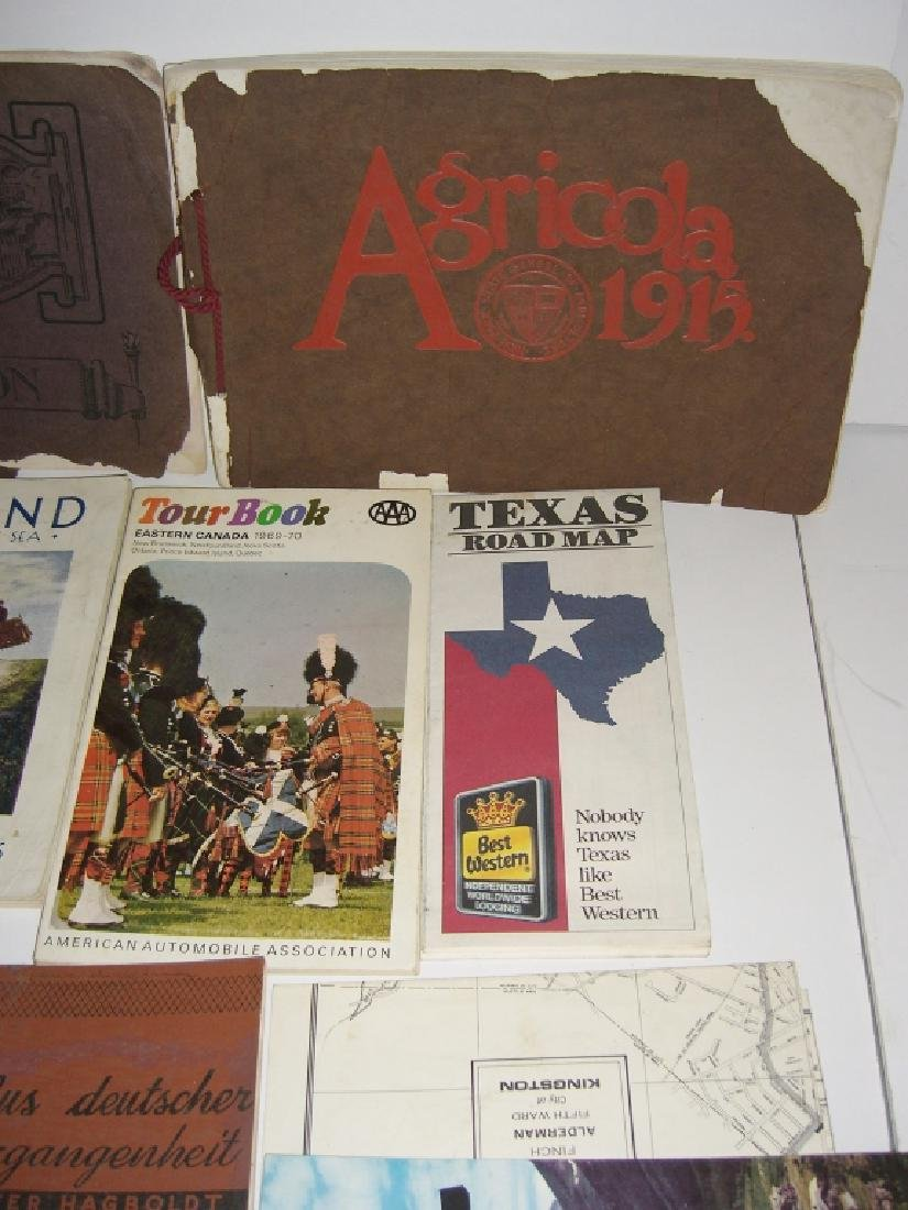 23 vintage travel & almanacs catalogs - 7