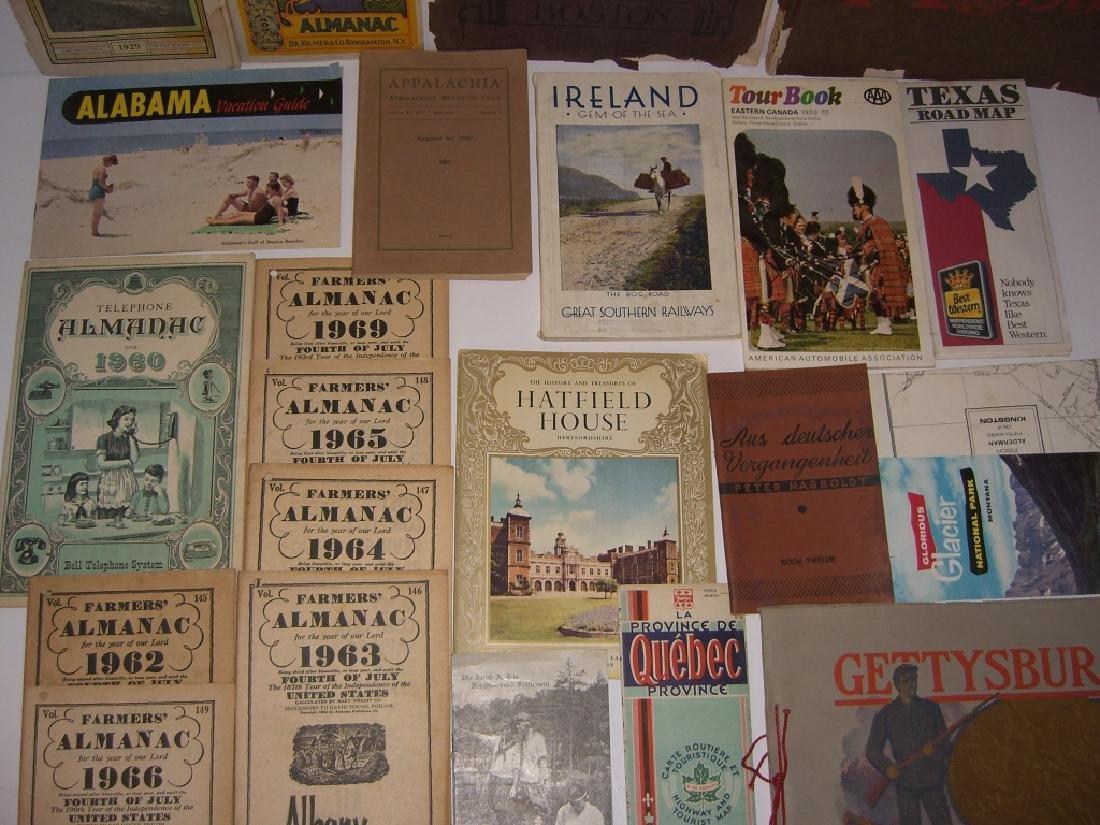 23 vintage travel & almanacs catalogs - 8