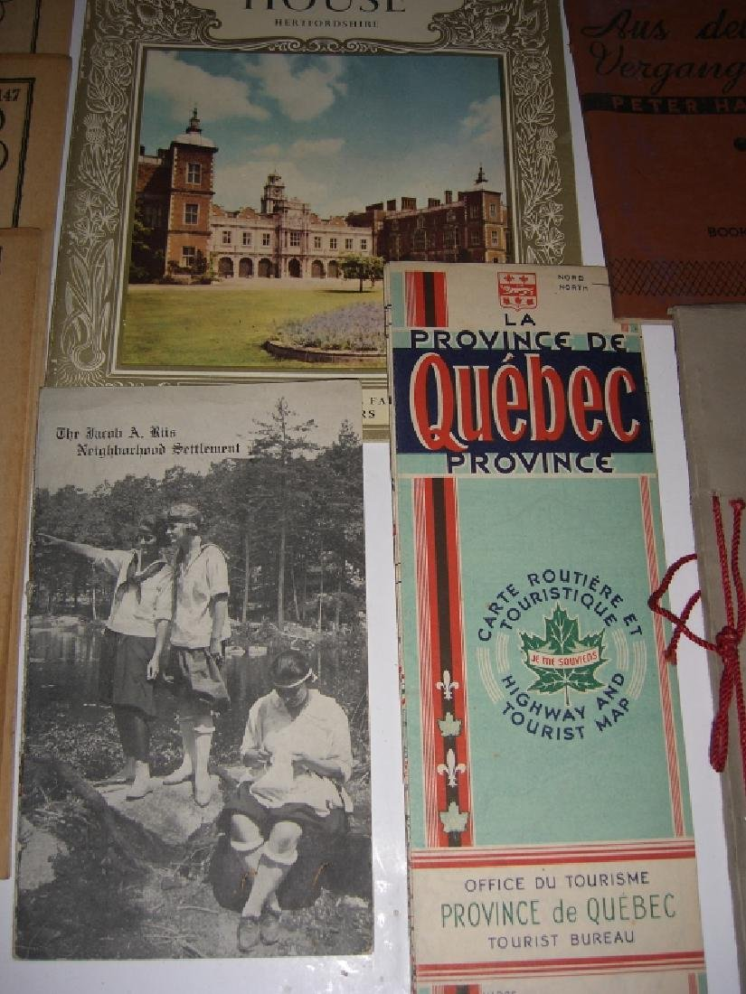 23 vintage travel & almanacs catalogs - 9