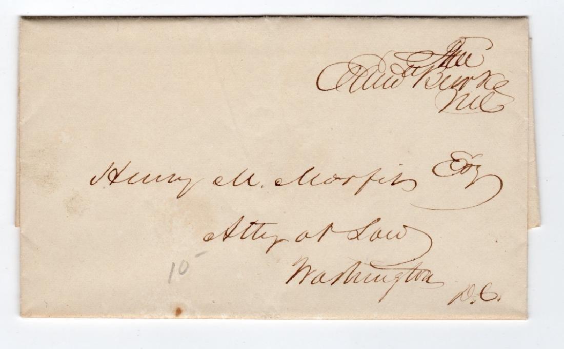 1844 free frank folded letter