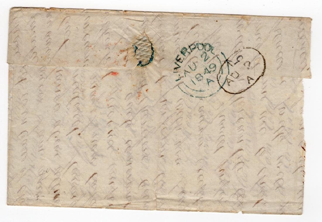 1849 US stampless cover - 2