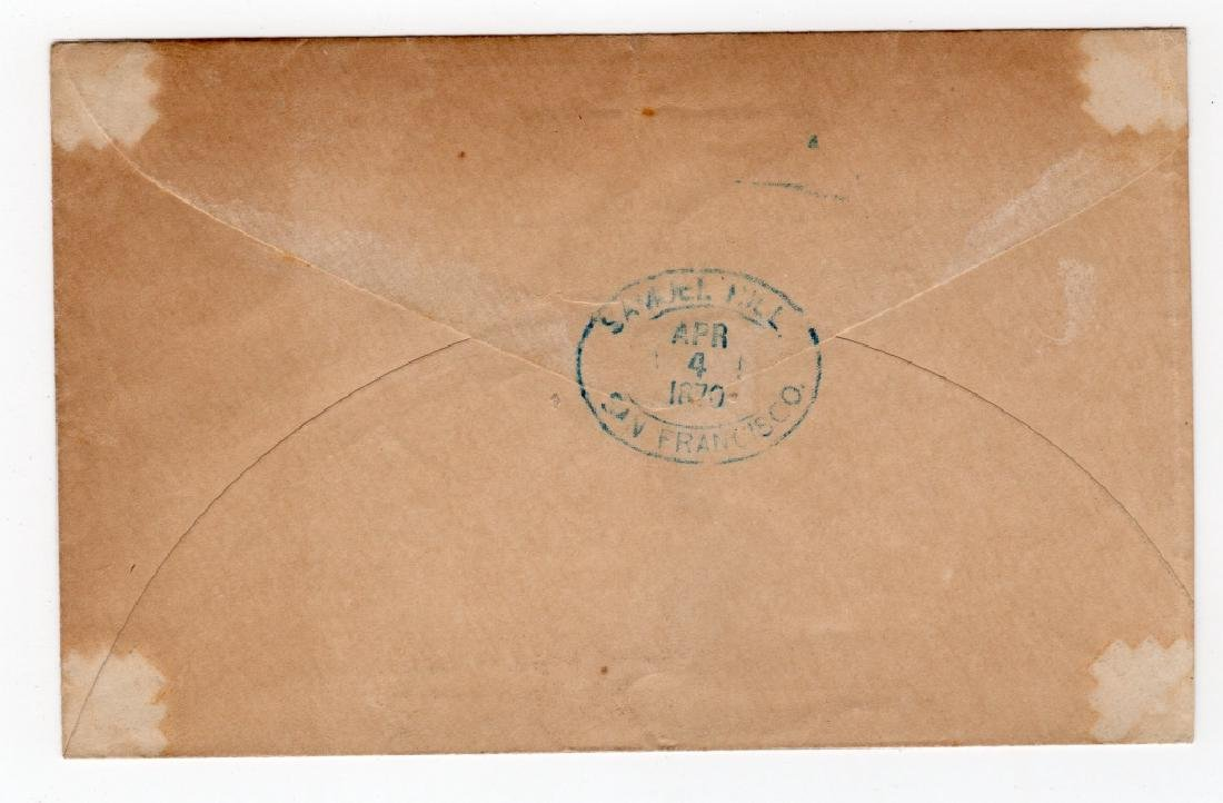 1870 US Wells Fargo and Co. postal stationary - 2
