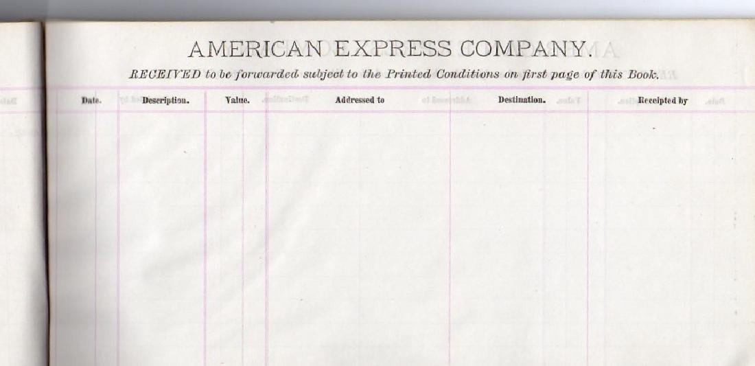 American Express Company book - 2
