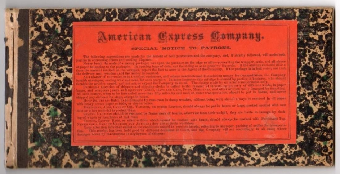 American Express Company book - 3