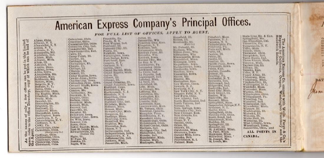 American Express Company book - 5