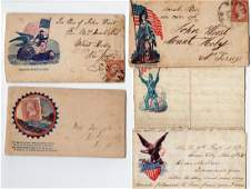 Collection of Civil war covers & letters