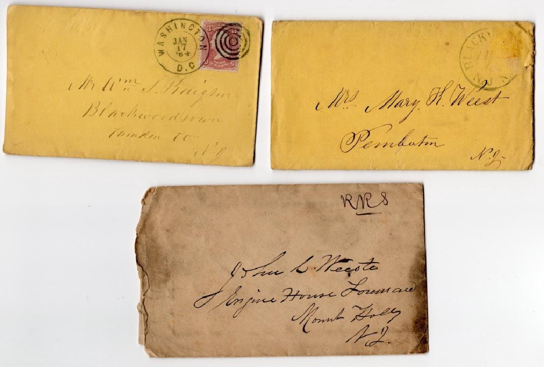 Collection of Civil war covers & letters - 3