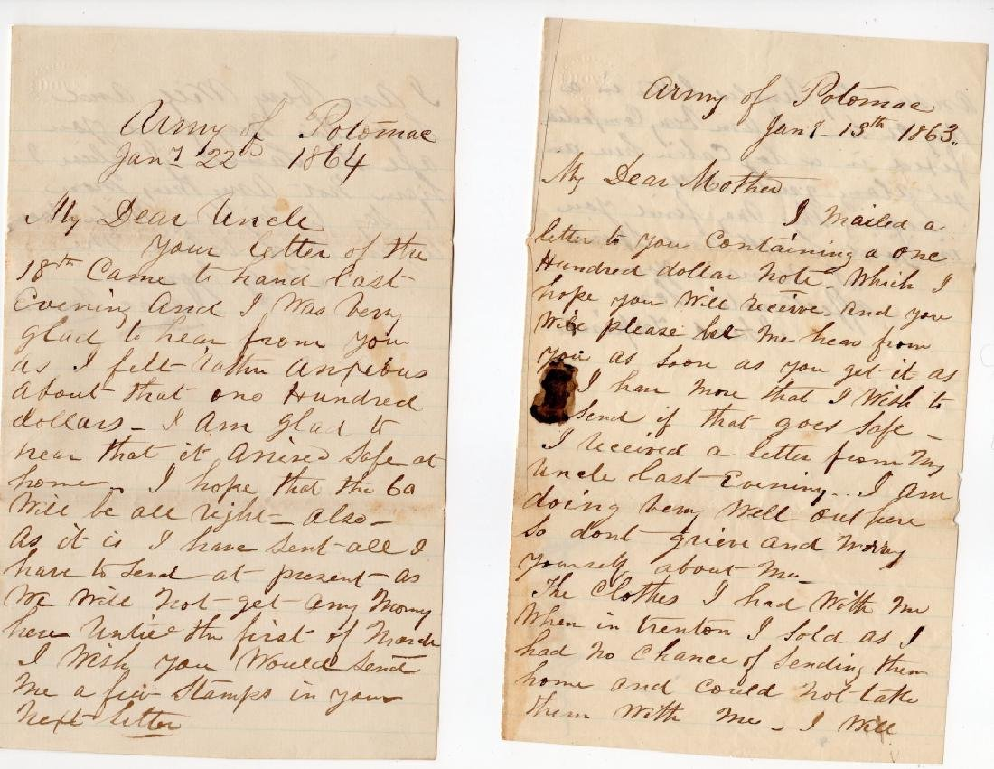 Collection of Civil war covers & letters - 4