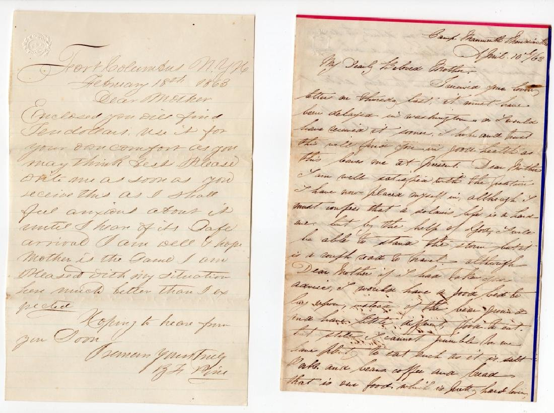 Collection of Civil war covers & letters - 5