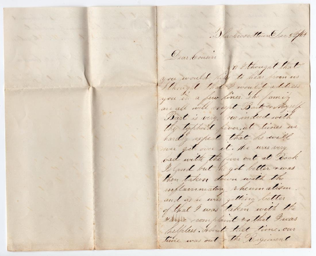 Collection of Civil war covers & letters - 7