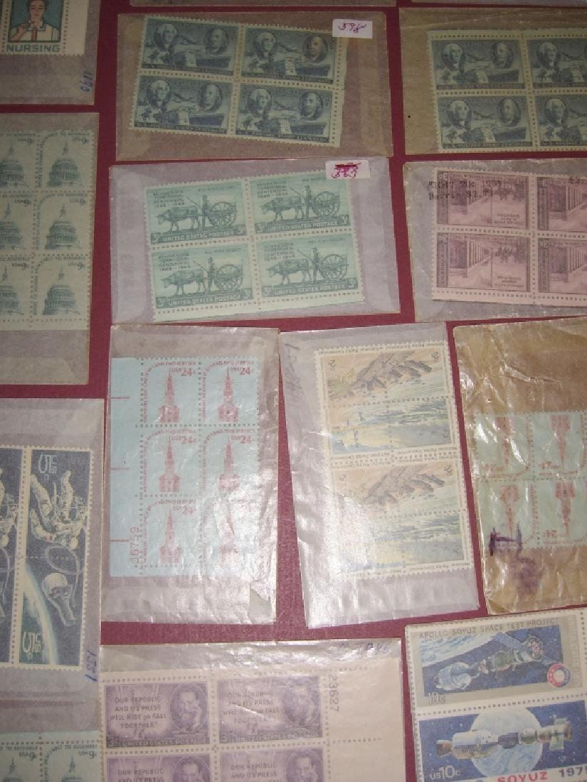US 50 mixed  block stamps lot - 10