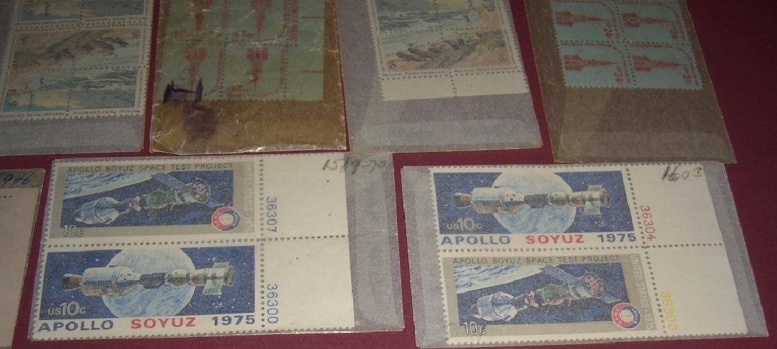 US 50 mixed  block stamps lot - 4