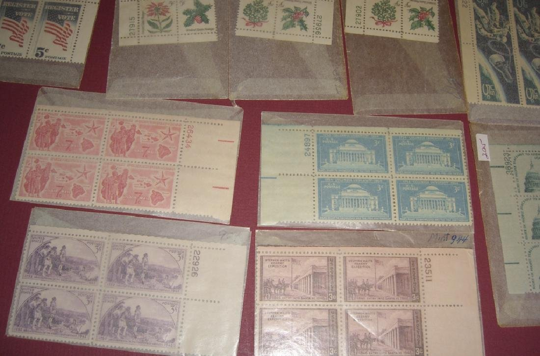 US 50 mixed  block stamps lot - 5