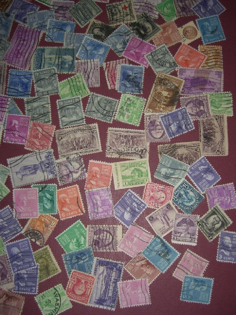 US 200 piece mixed stamps lot - 4