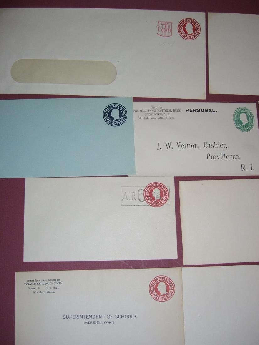 US 26 mint embossed stamped envelope covers - 10