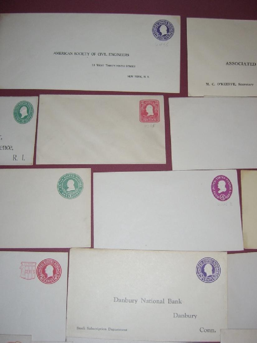 US 26 mint embossed stamped envelope covers - 2