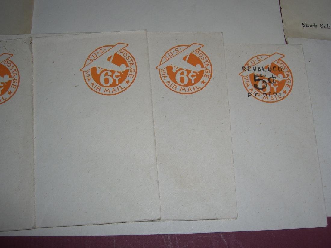 US 26 mint embossed stamped envelope covers - 6