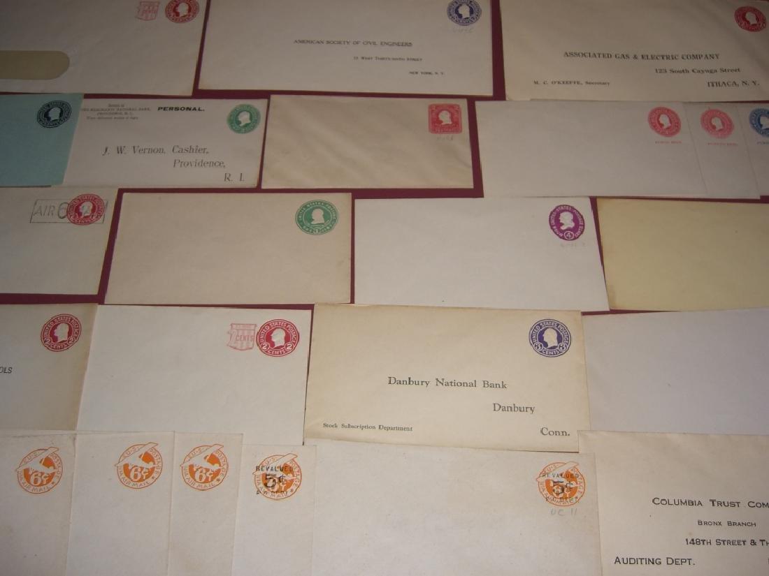 US 26 mint embossed stamped envelope covers - 9