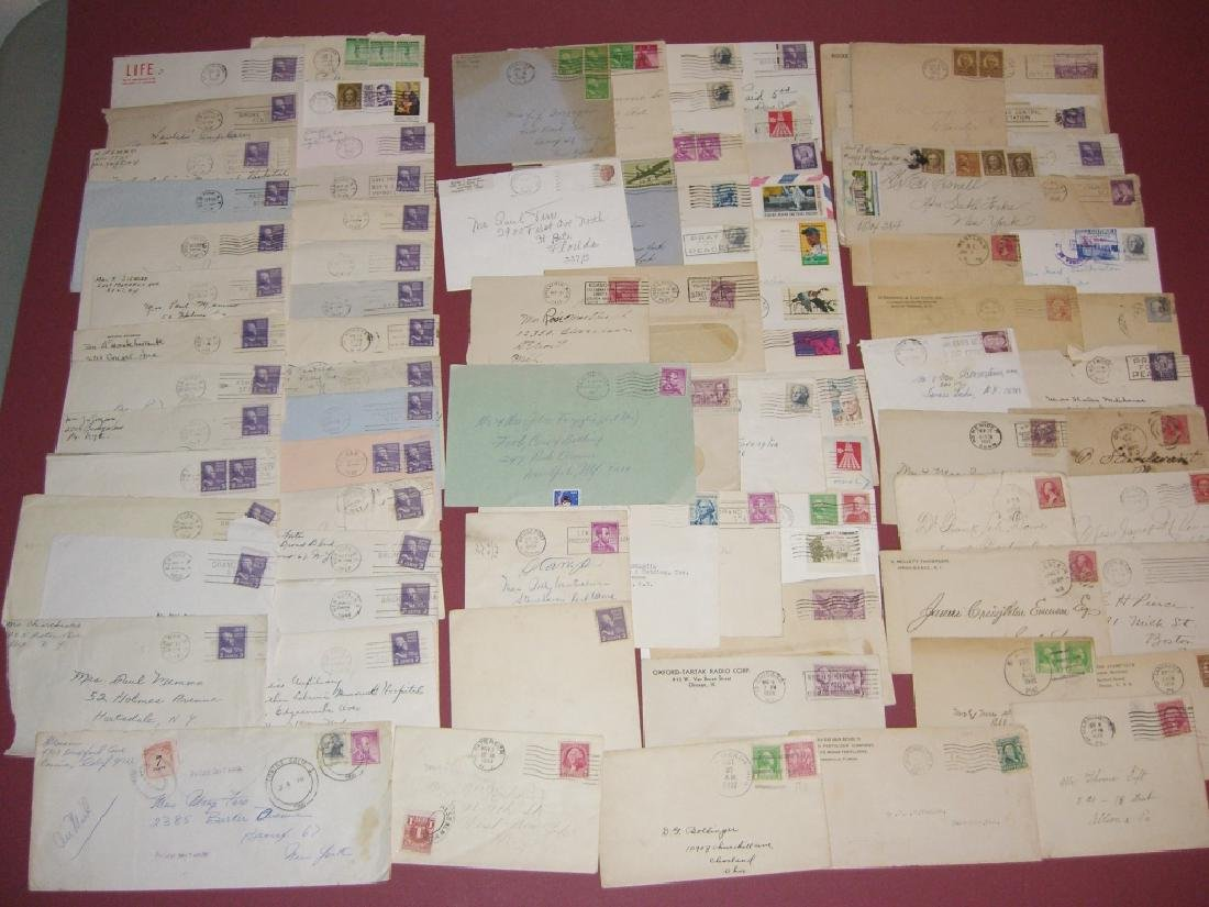 US 14 1909-1954 stamped envelope covers