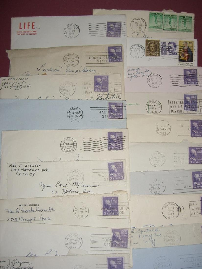 US 14 1909-1954 stamped envelope covers - 2