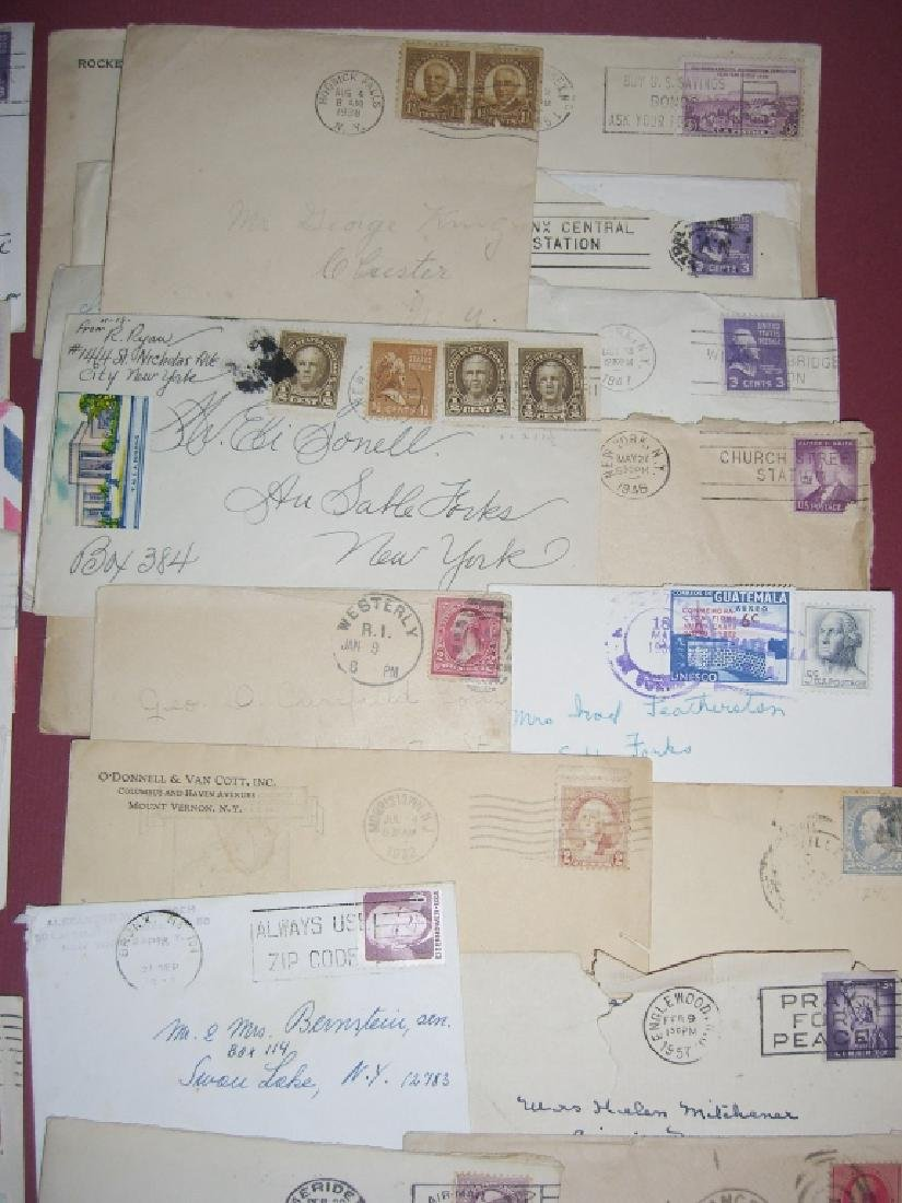 US 14 1909-1954 stamped envelope covers - 4