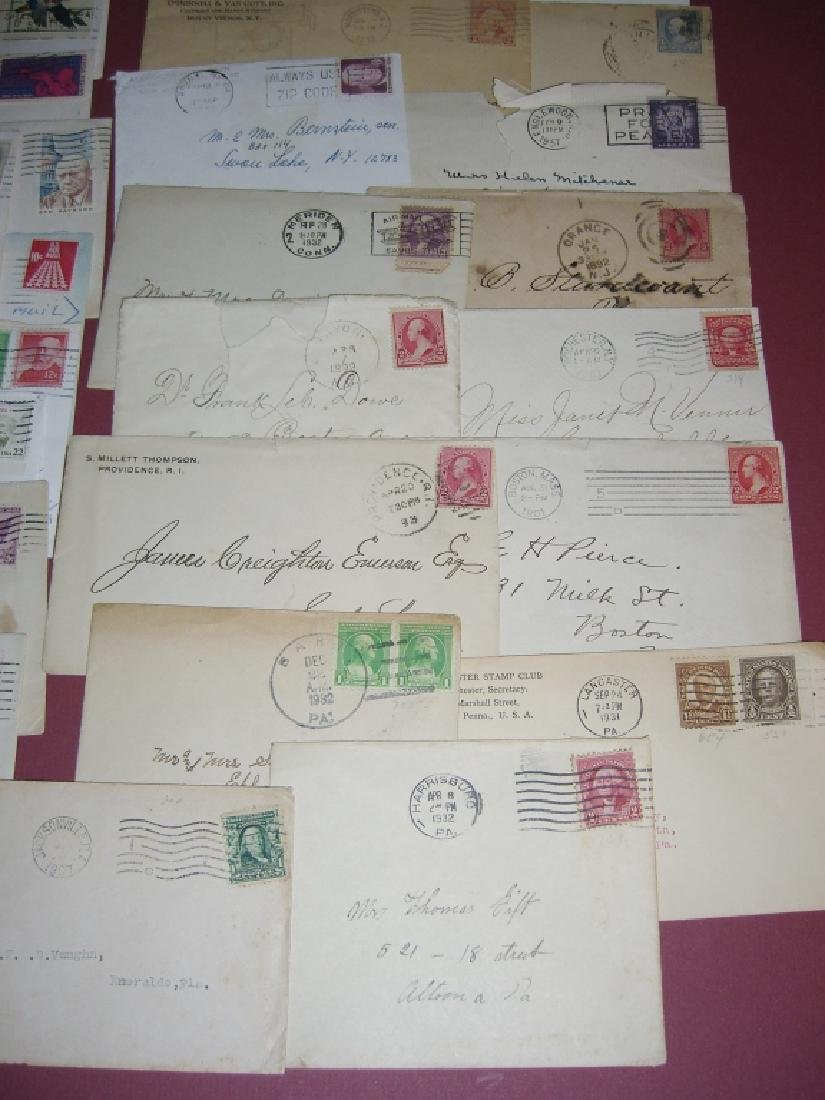 US 14 1909-1954 stamped envelope covers - 5