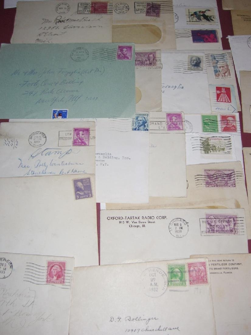 US 14 1909-1954 stamped envelope covers - 6