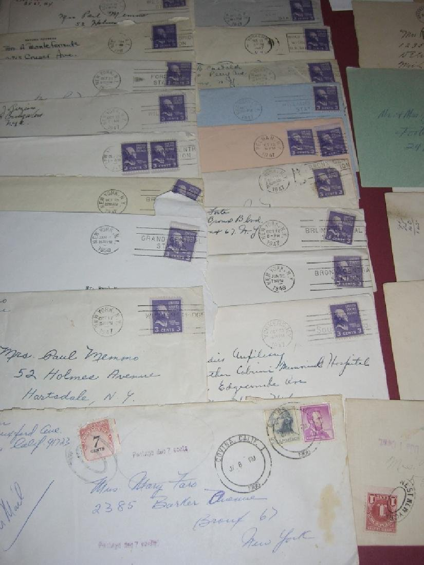 US 14 1909-1954 stamped envelope covers - 7