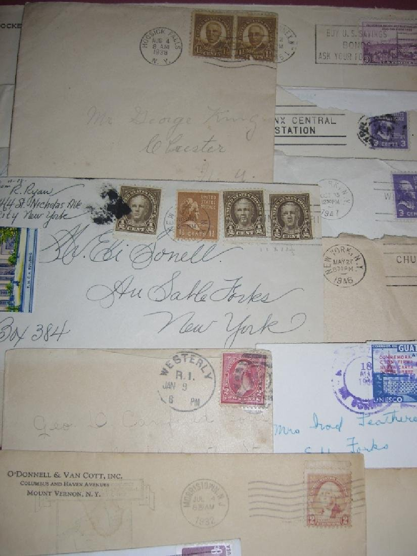 US 14 1909-1954 stamped envelope covers - 8