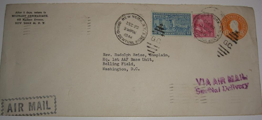 US 9 special delivery stamped envelope covers - 4