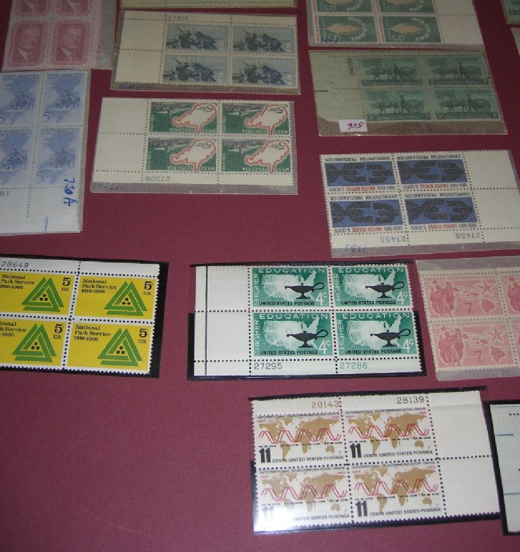 US 50 mixed block stamps lot - 6
