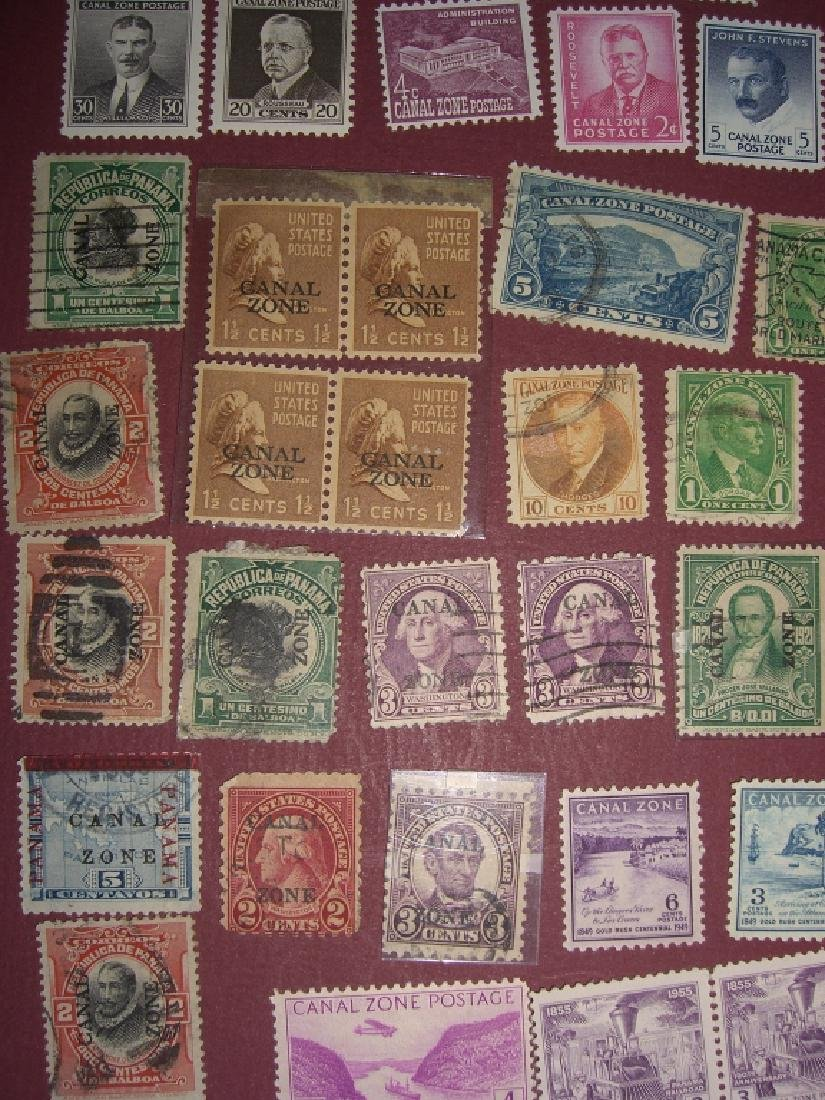 US 1904-1958 Canal Zone stamps lot - 2