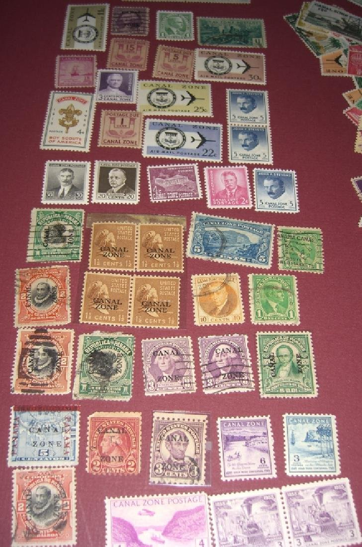 US 1904-1958 Canal Zone stamps lot - 4