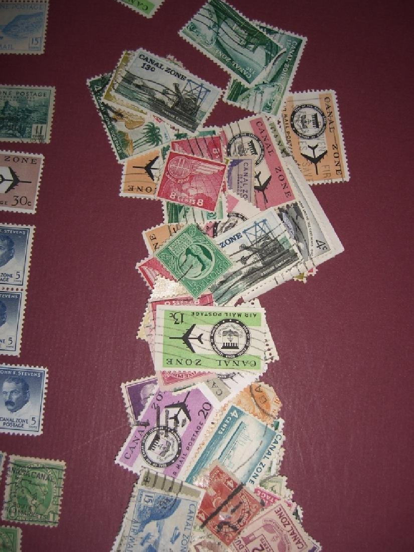US 1904-1958 Canal Zone stamps lot - 5