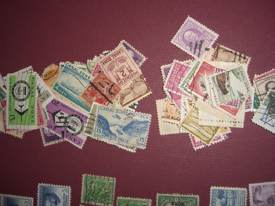 US 1904-1958 Canal Zone stamps lot - 6