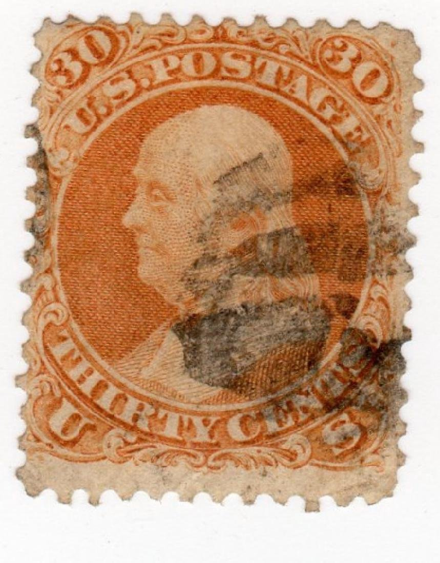 US 30 cents Ben Franklin stamp