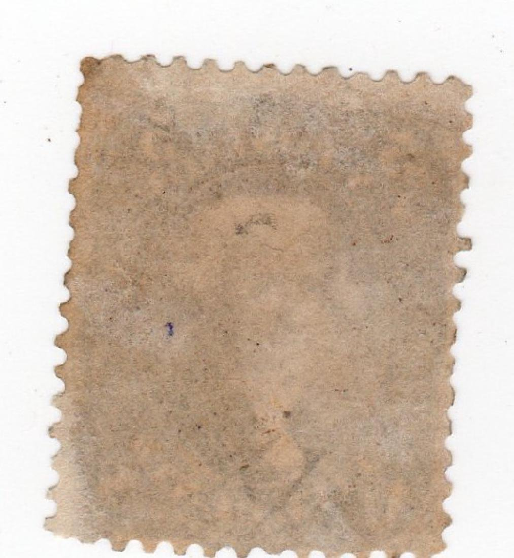 US 1861-1866 5 cents Jefferson stamp - 2