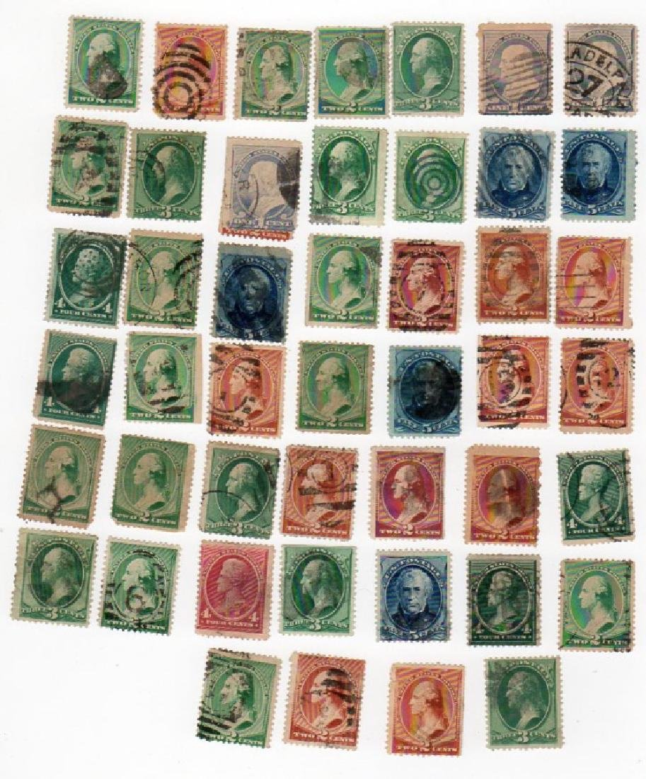 47 US mix lot stamps